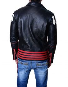 27ecb579a Red And Black Freddie Mercury Leather Jacket - Rockstar Freddie Mercury  Jacket