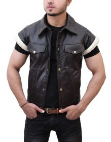 Red Dead John Marston Leather Vest