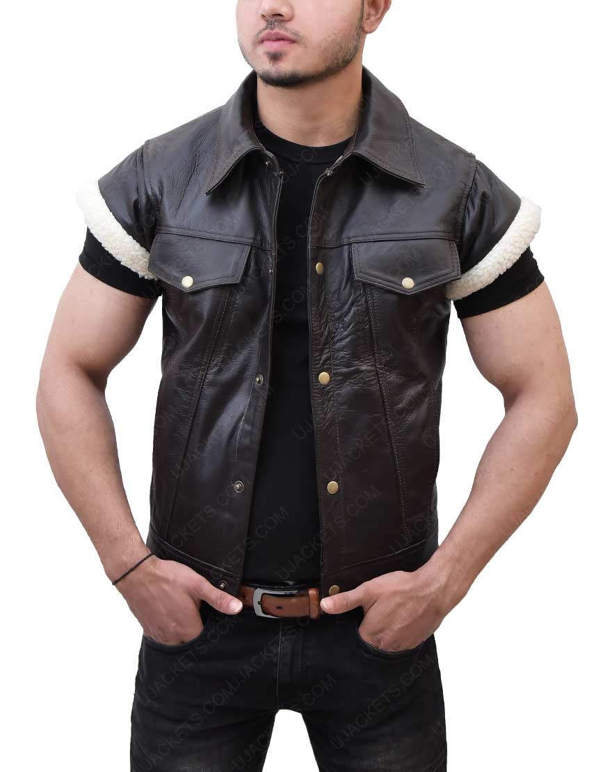 Red Dead John Marston Leather Vest