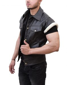 Red Dead Leather Vest