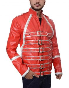 Red Freddie Mercury Jacket