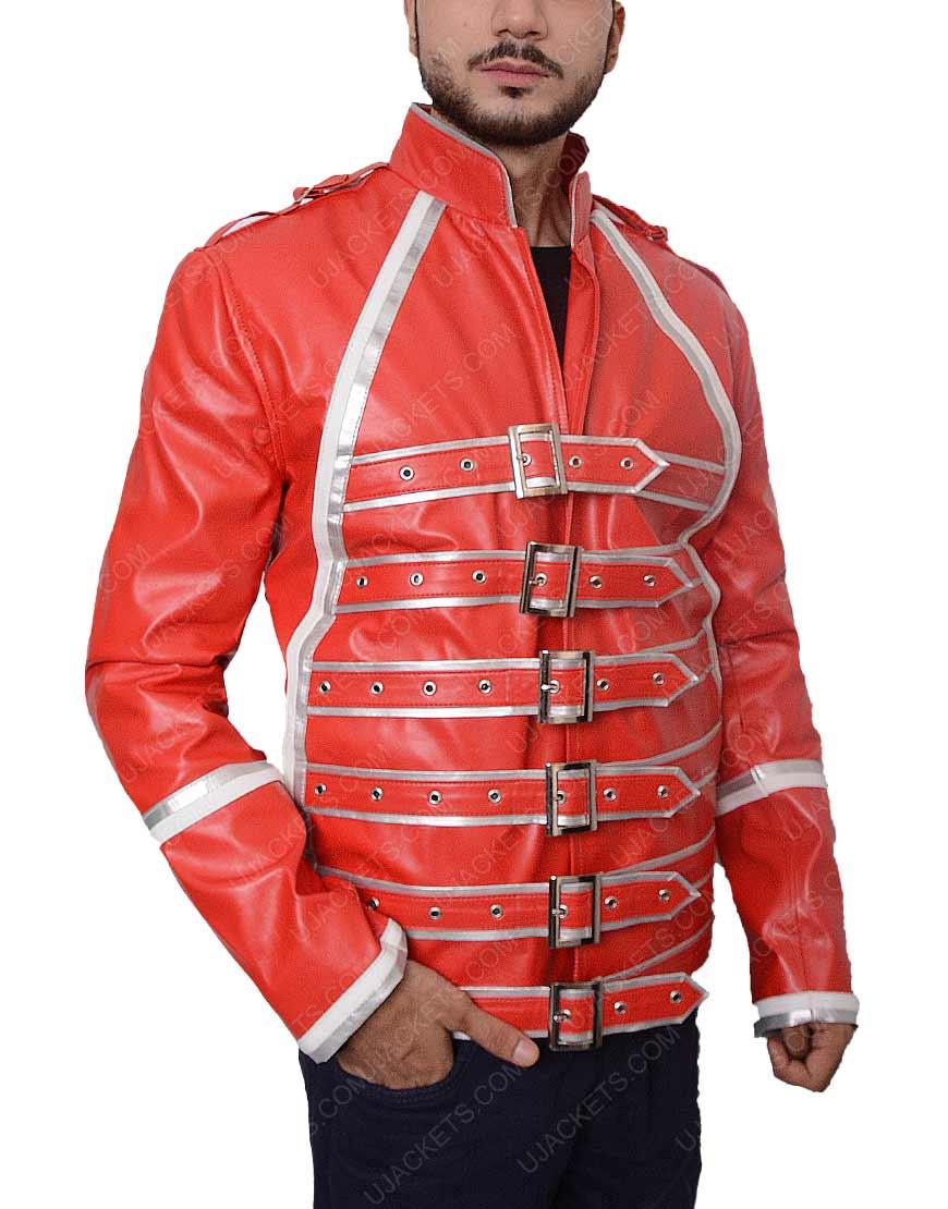 Red Freddie Mercury Jacket