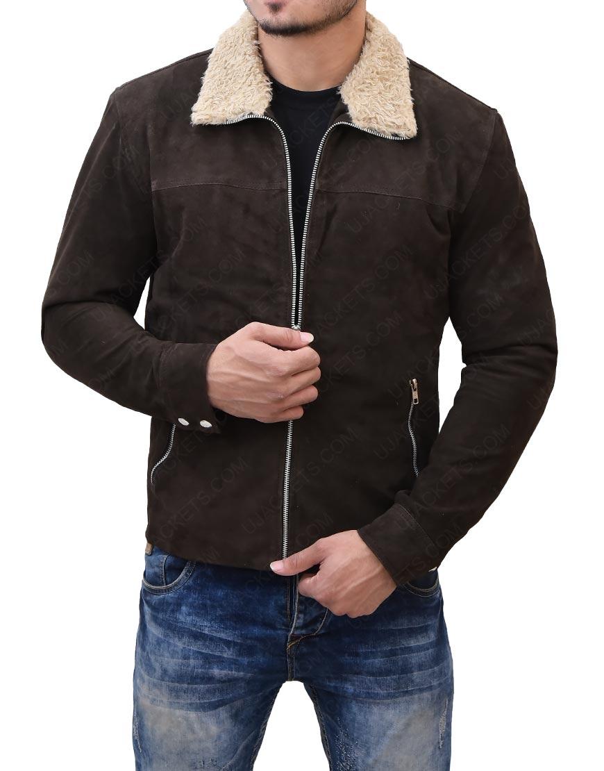 Rick GrimesThe Walking DeadReal Suede Jacket