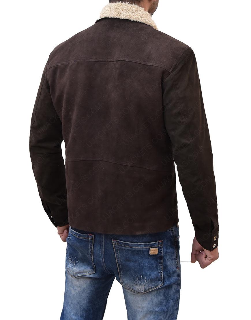 Rick GrimesThe Walking DeadReal Suede Leather Jacket