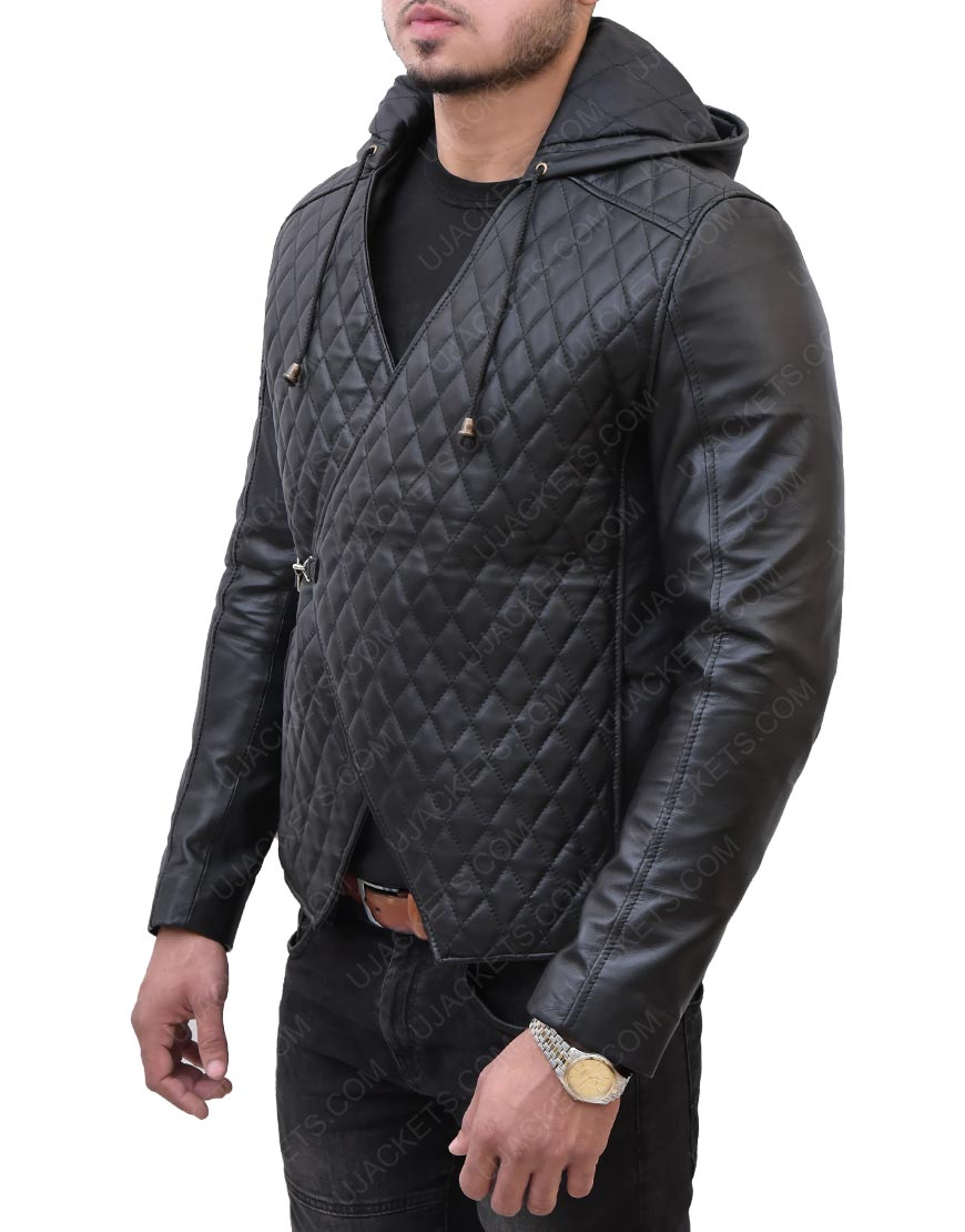 Taron Egerton Leather Jacket
