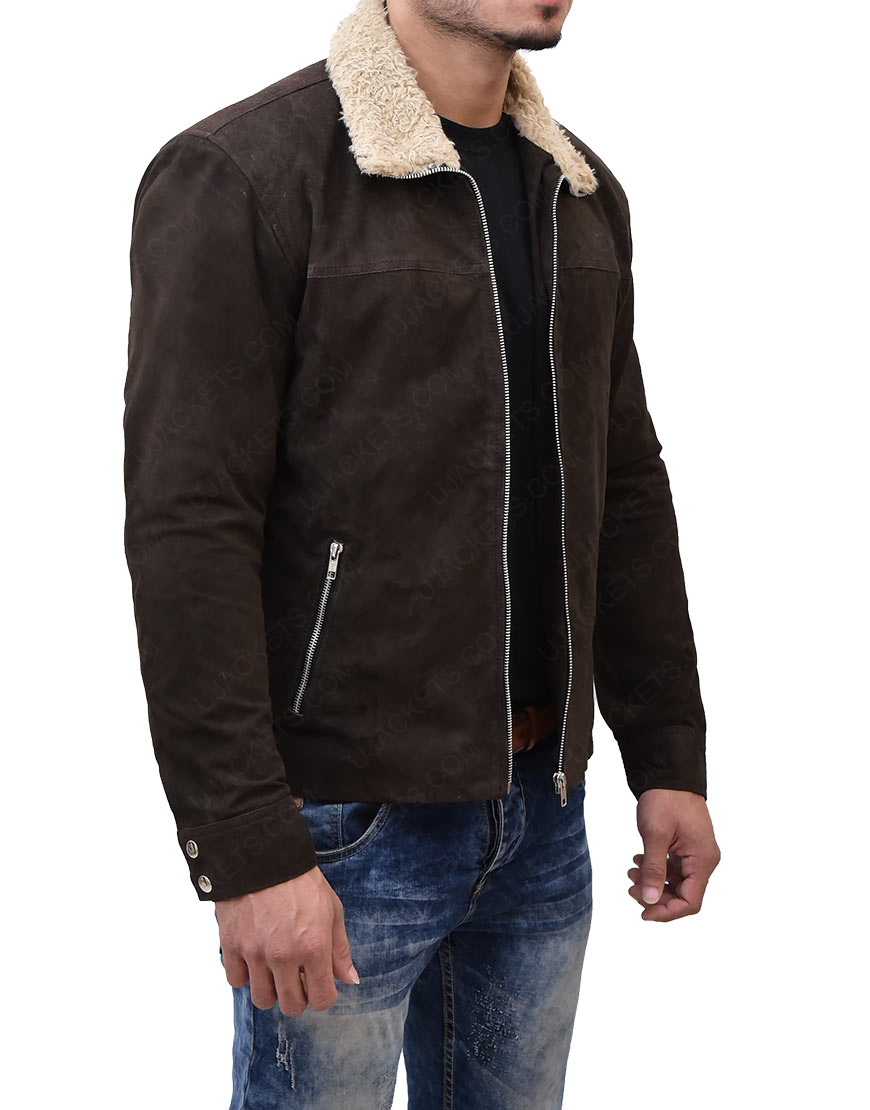 The Walking DeadReal Suede Leather Jacket