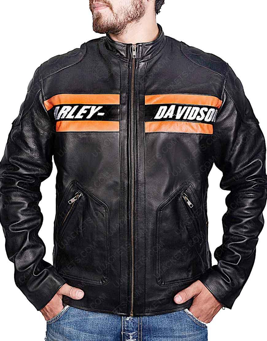 WWE Bill Goldberg Harley Davidson Leather Jacket