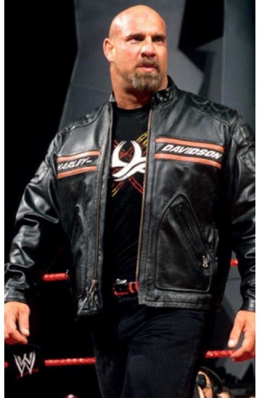 WWE Bill Goldberg Harley Davidson Motorcycle Jacket