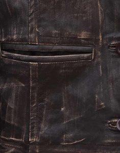 Womens Bomber Leather Jacket
