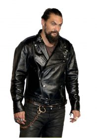 jason momoa aquaman leather Jacket
