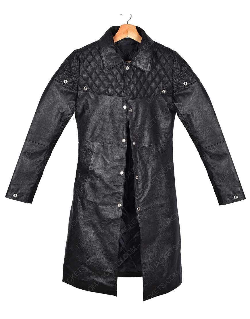 Battle Angel Alita Leather Coat