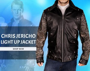 Chris Jericho Light Up Jacket for Sale