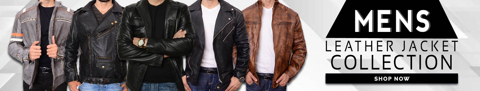 Mens Leather Jackets banner