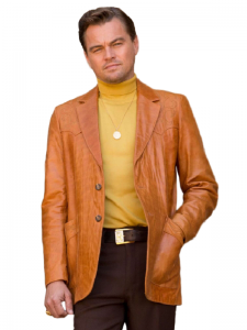 Once Upon a Time in Hollywood Brown Rick Dalton Coat