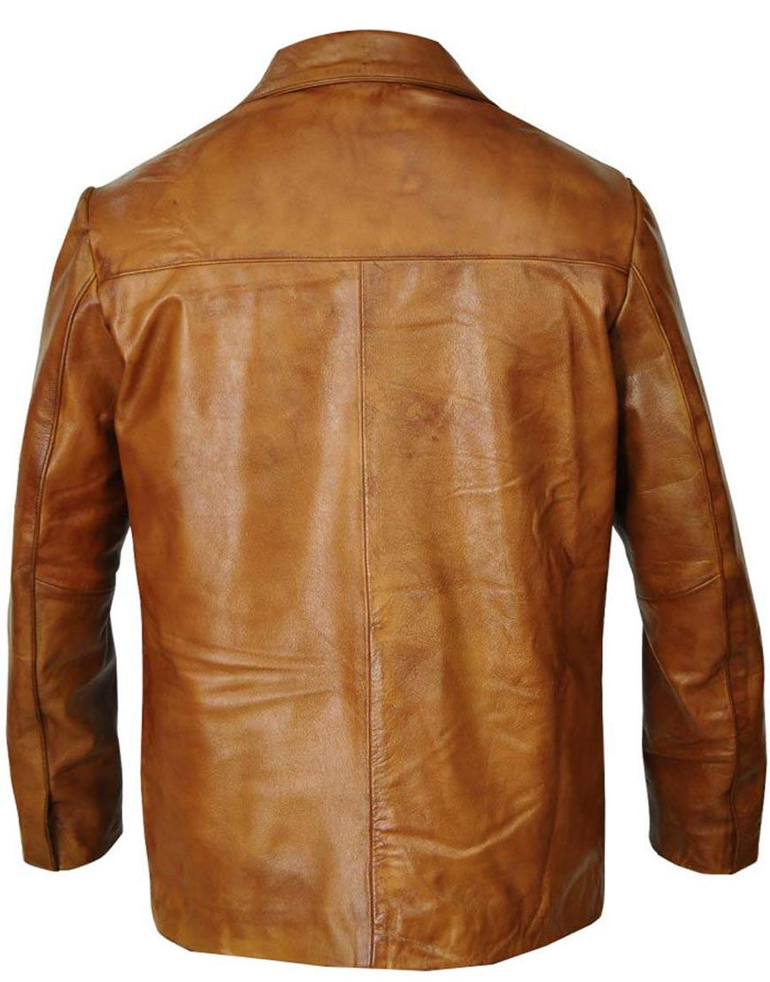 Rick-Dalton-Brown-Leather-Jacket