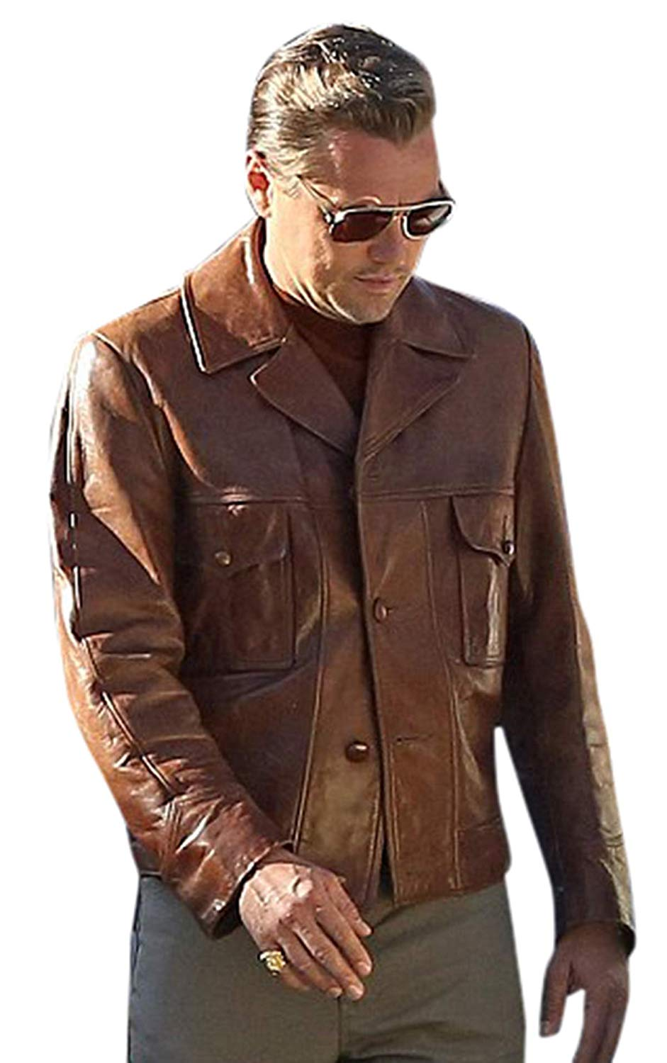 Rick Dalton Once Upon A Time In Hollywood Leather Jacket