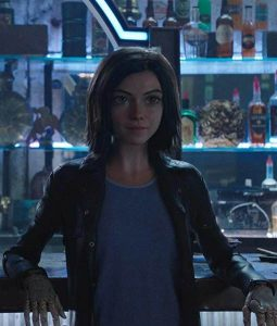 Rosa Salazar Battle Angel Alita Leather Coat