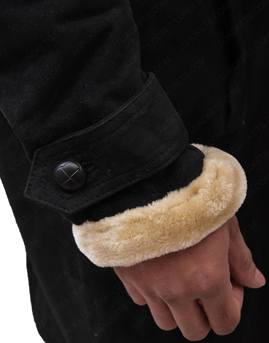 Youngblood long shearling Coat