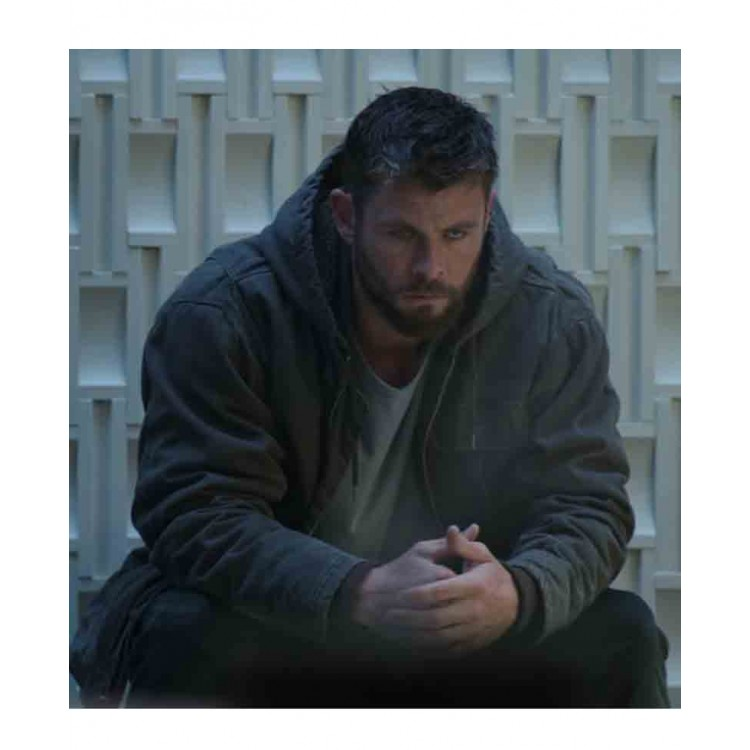 Avengers Endgame Movie Thor Jacket with Hoodie