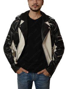 Black and White Michael Jackson Pepsi Jacket