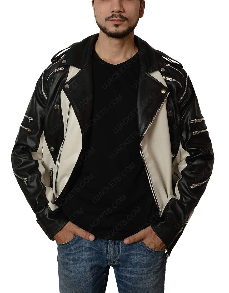 Black and White Michael Jackson Pepsi Jacket