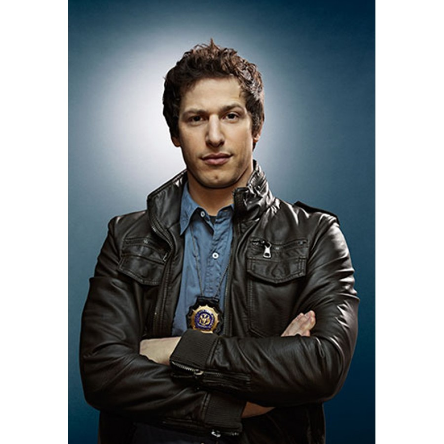 Brooklyn Nine Nine Jake Peralta Leather Jacket