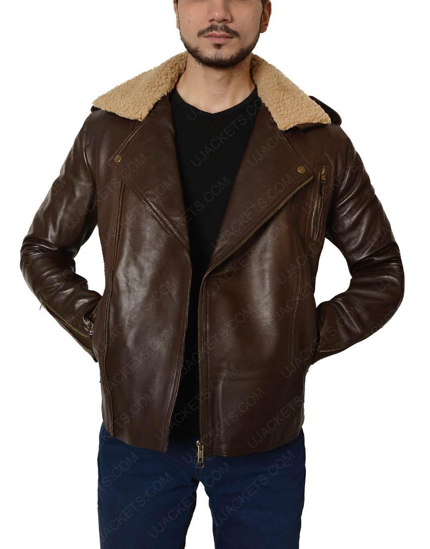 Brown color jacket