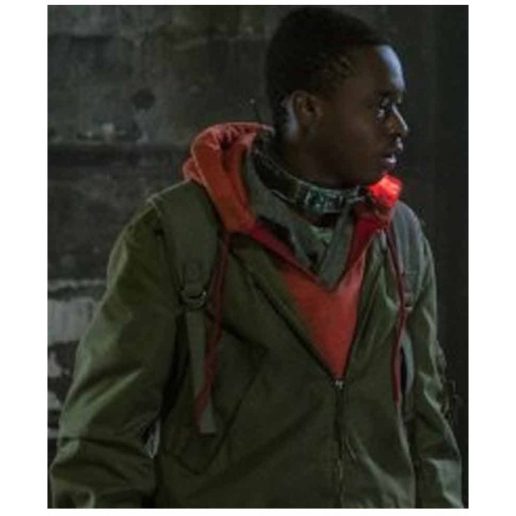 Captive State Ashton Jacket with Hoodie