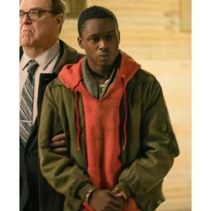 Captive State Ashton Sanders Jacket with Hoodie
