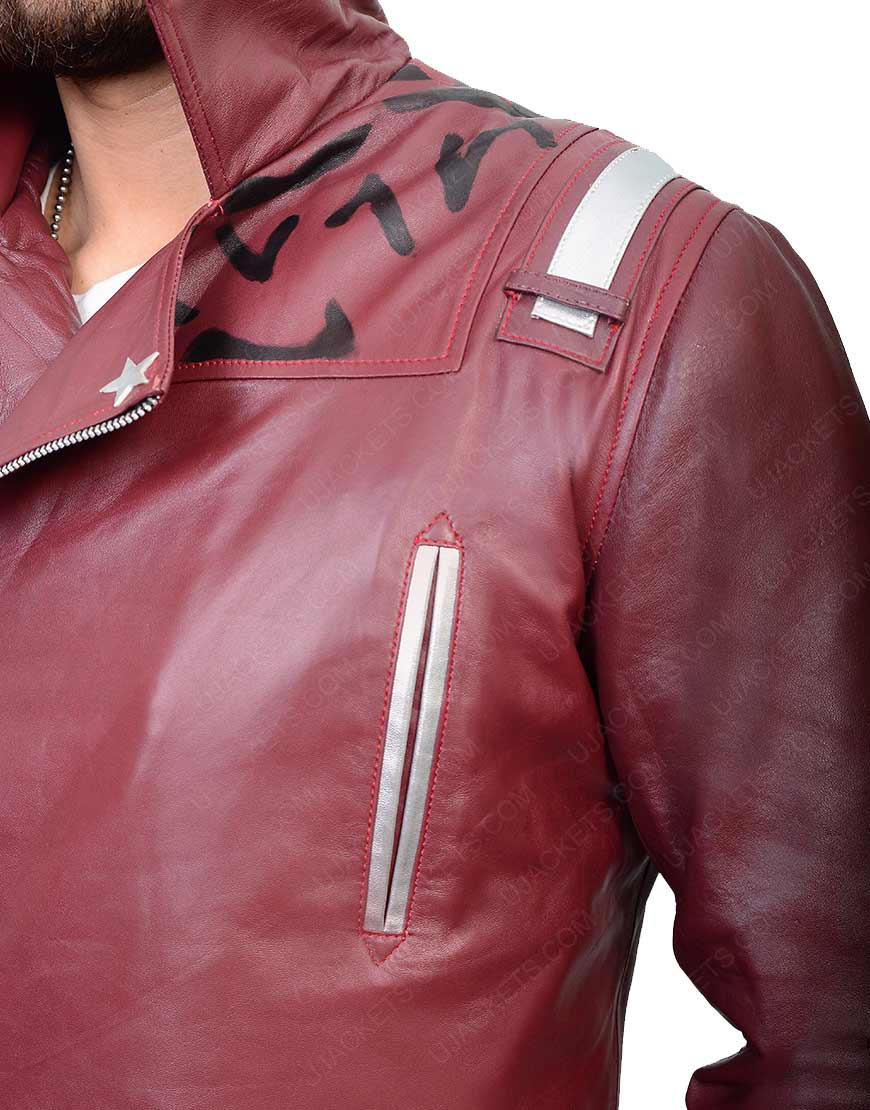 No More Heroes 2 Leather Jacket