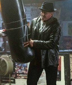 ocky Balboa Creed II Sylvester Stallone Leather Jacket