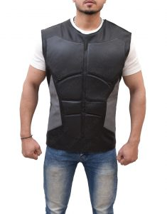 wwe Leather Vest