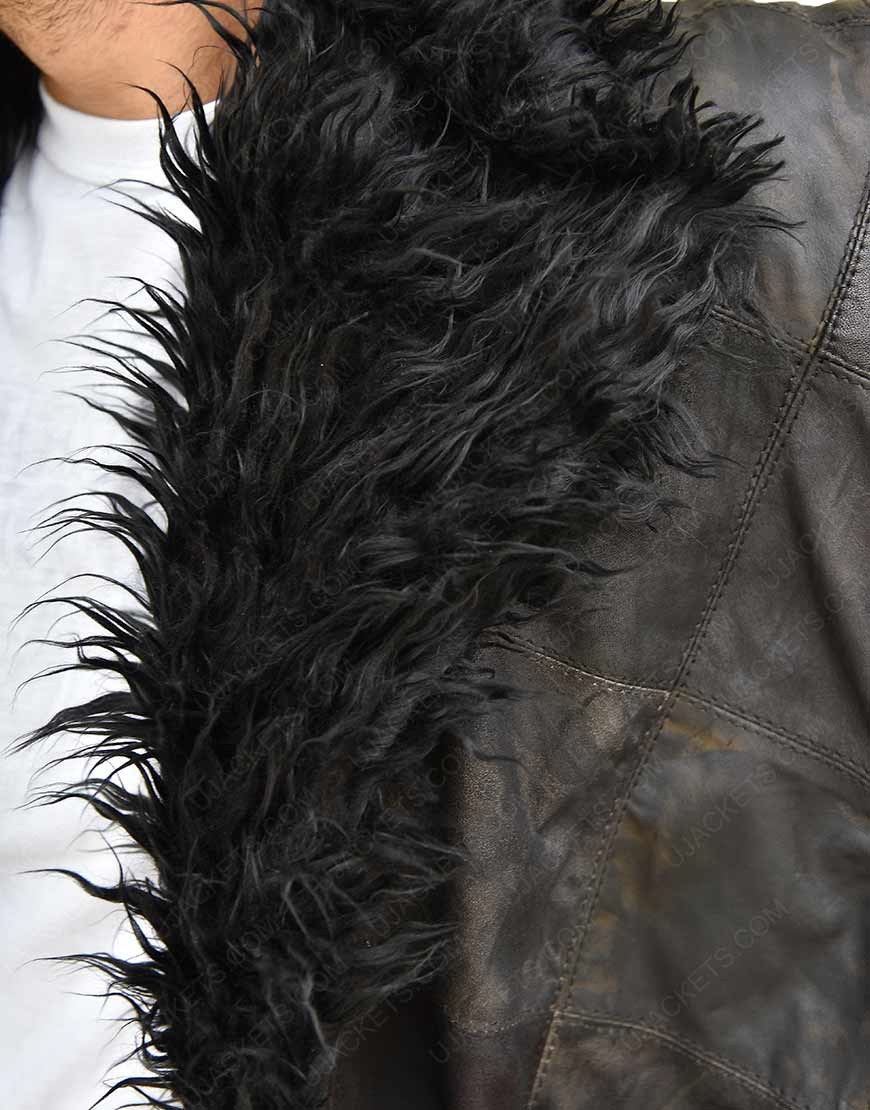 Academy Klaus Shearling Fur Trench Coat