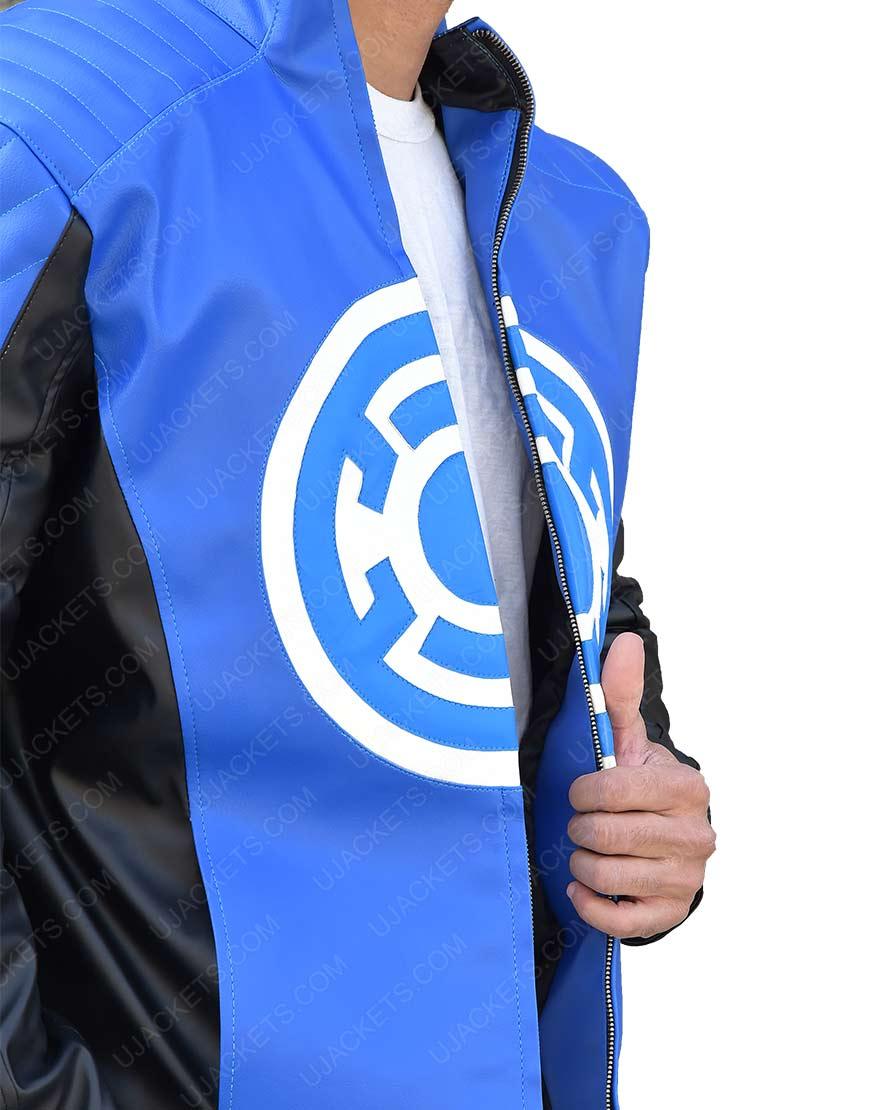 Blue Lantern Leather Jacket