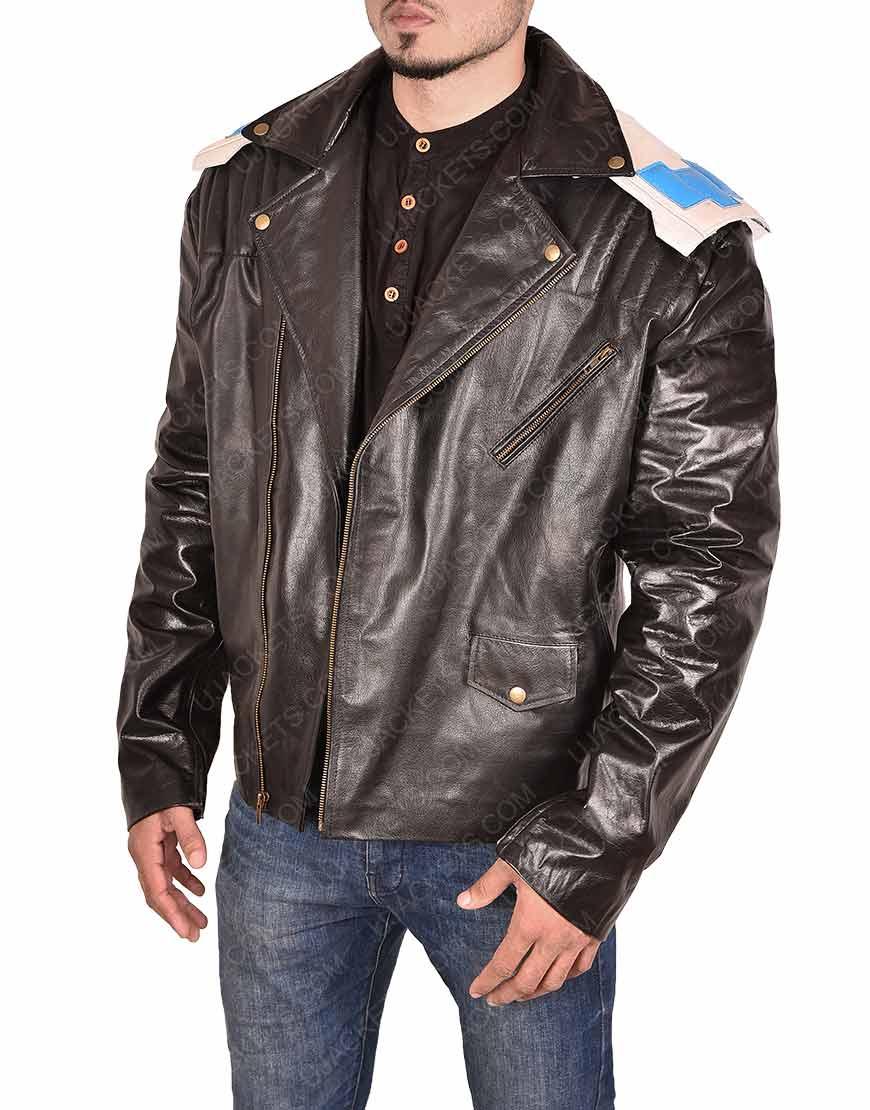 Brendan Fraser Doom Patrol Leather Jacket
