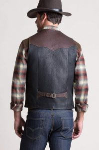 Carry Pockets Leather Vest