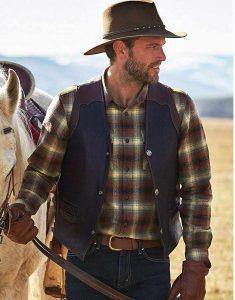Cowboy-Classic-Carry-Pockets-Leather-Vest