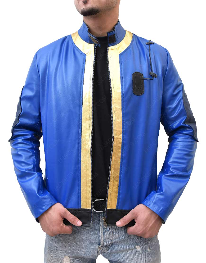 Fallout 76 Leather Jacket