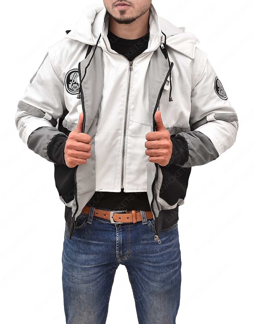 Ghost Recon Assassin S Creed Cotton Hooded Jacket