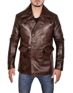 Inglourious Basterds Brad Pitt Leather Jacket