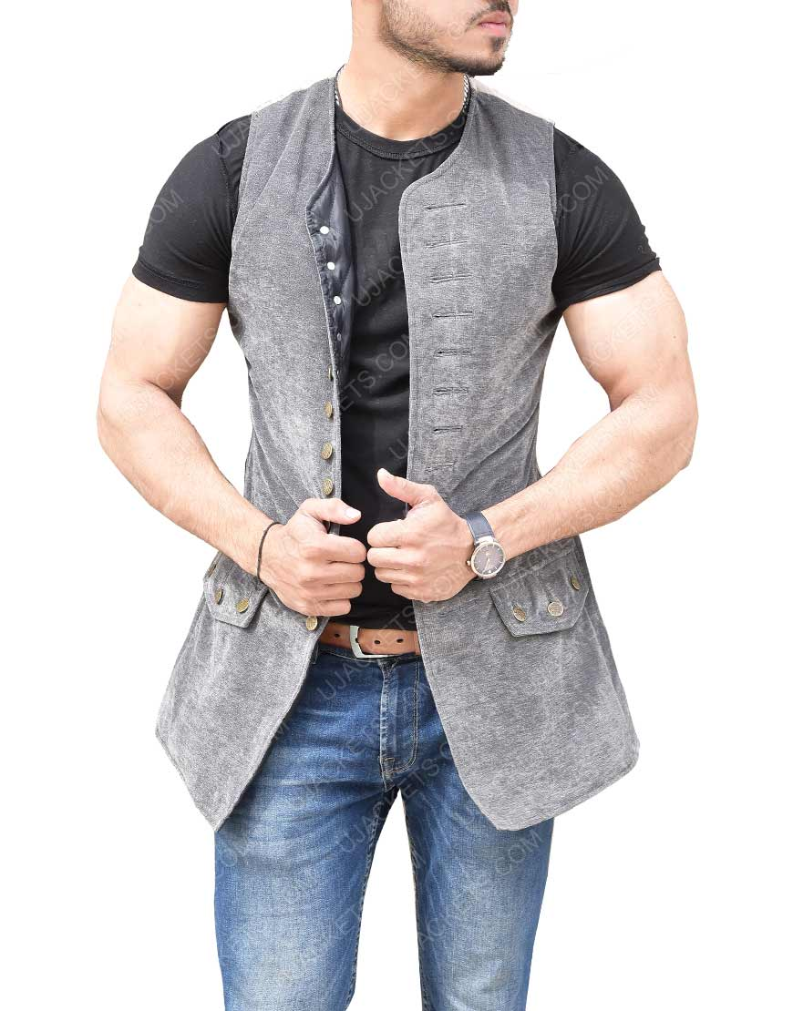 Jack Sparrow Distressed Vest