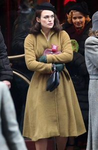 Keira Knightley The Aftermath Rachael Morgan Coat