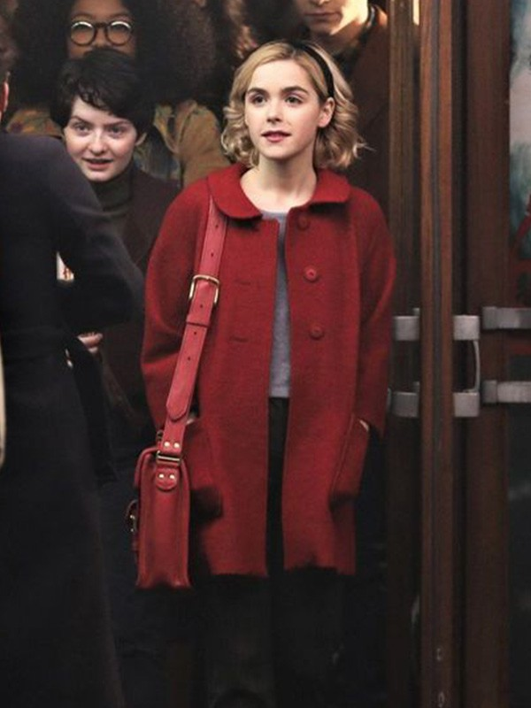 Kiernan Shipka The Chilling Adventures of Sabrina Coat