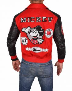 Mickey Mouse Varsity Jacket