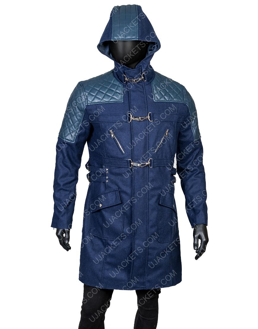 Nero Devil May Cry 5 Black Trench Coat