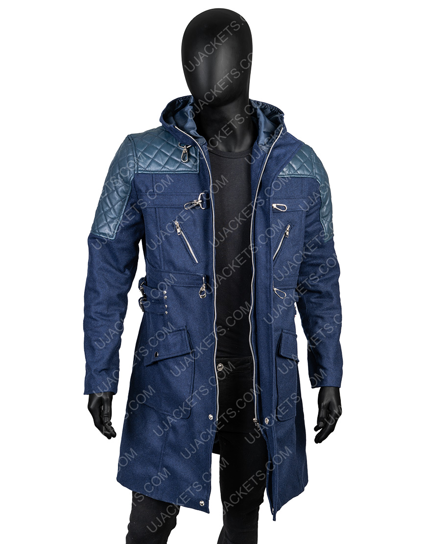 Nero Devil May Cry 5 BlueTrench Coat
