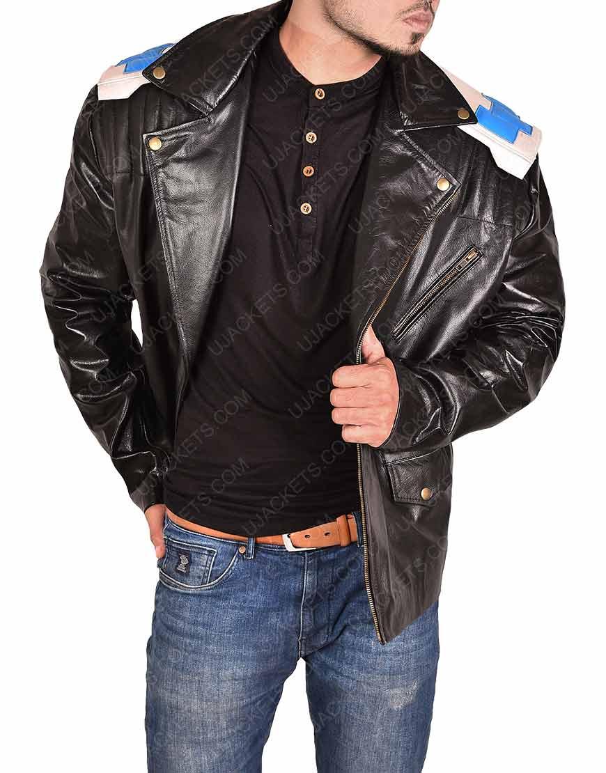 Patrol RobotmanCliff Steele Leather Jacket
