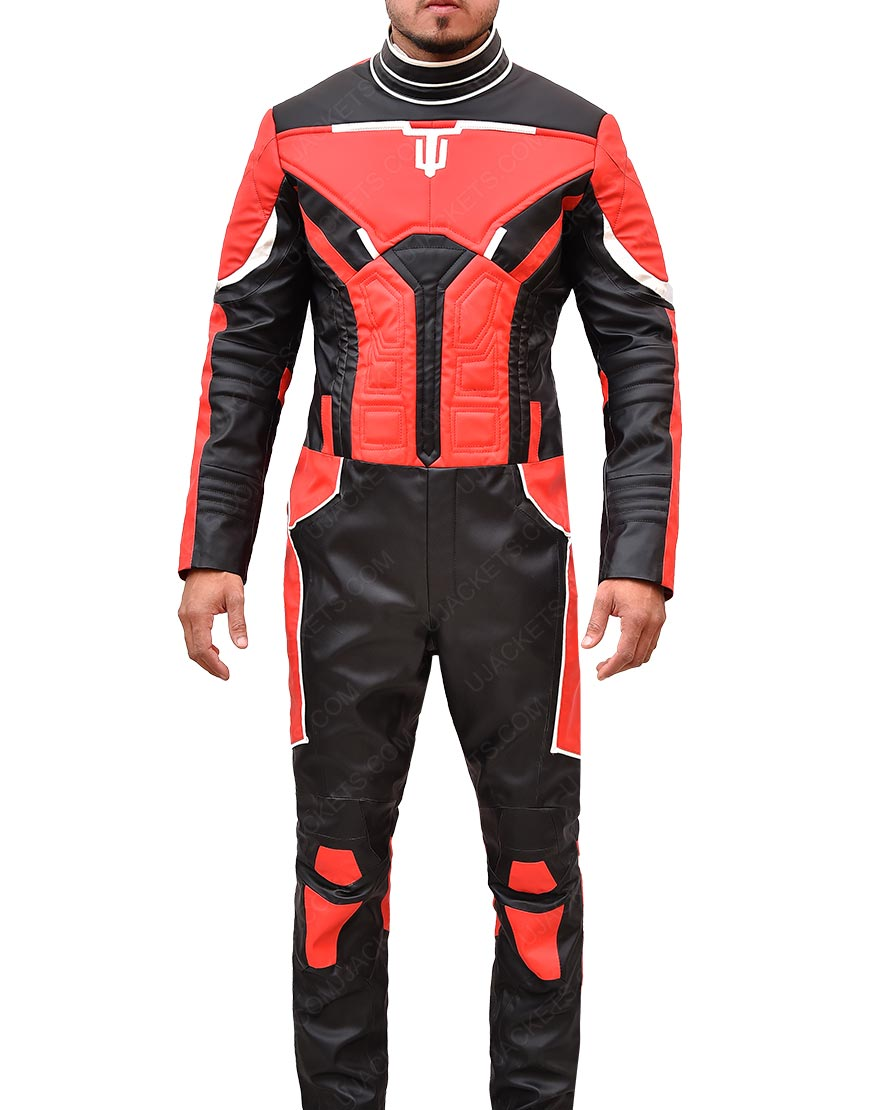 Paul Rudd Ant Man And The Wasp Leather Costume Suit