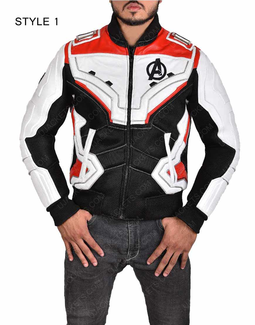 Quantum Avengers Endgame Leather Jacket