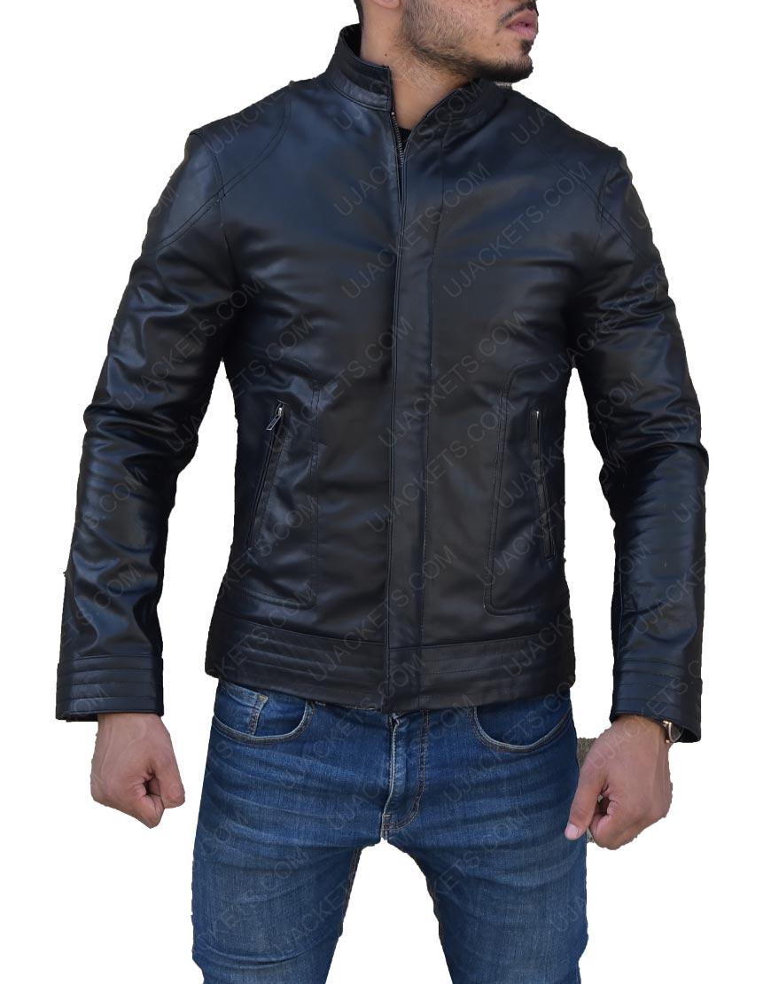 Rain as Raizoe Ninja Assassin Leather Jacket